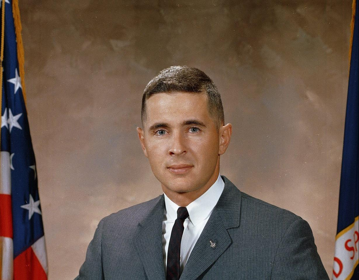 Portrait Of Astronaut William A. Anders