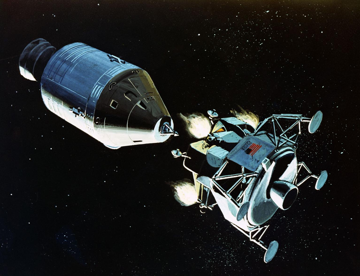 spacecraft in lunar orbit - photo #41