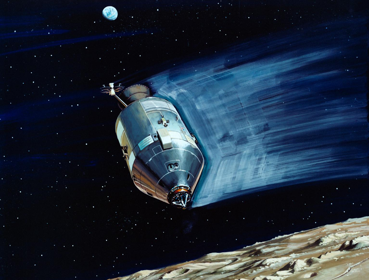Illustration of the Apollo Mission Command Module