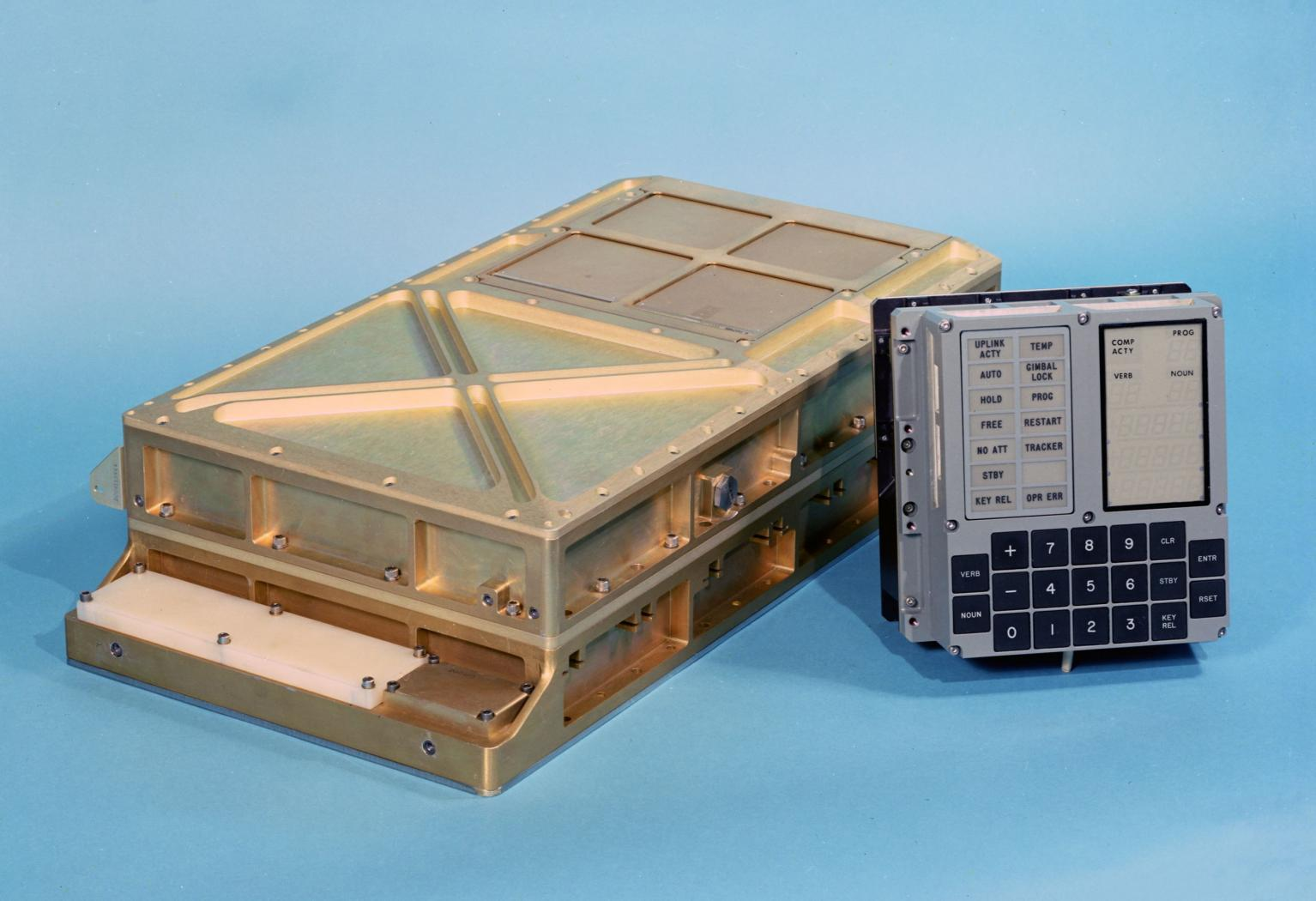 Apollo Guidance Computer Block II with DSKY