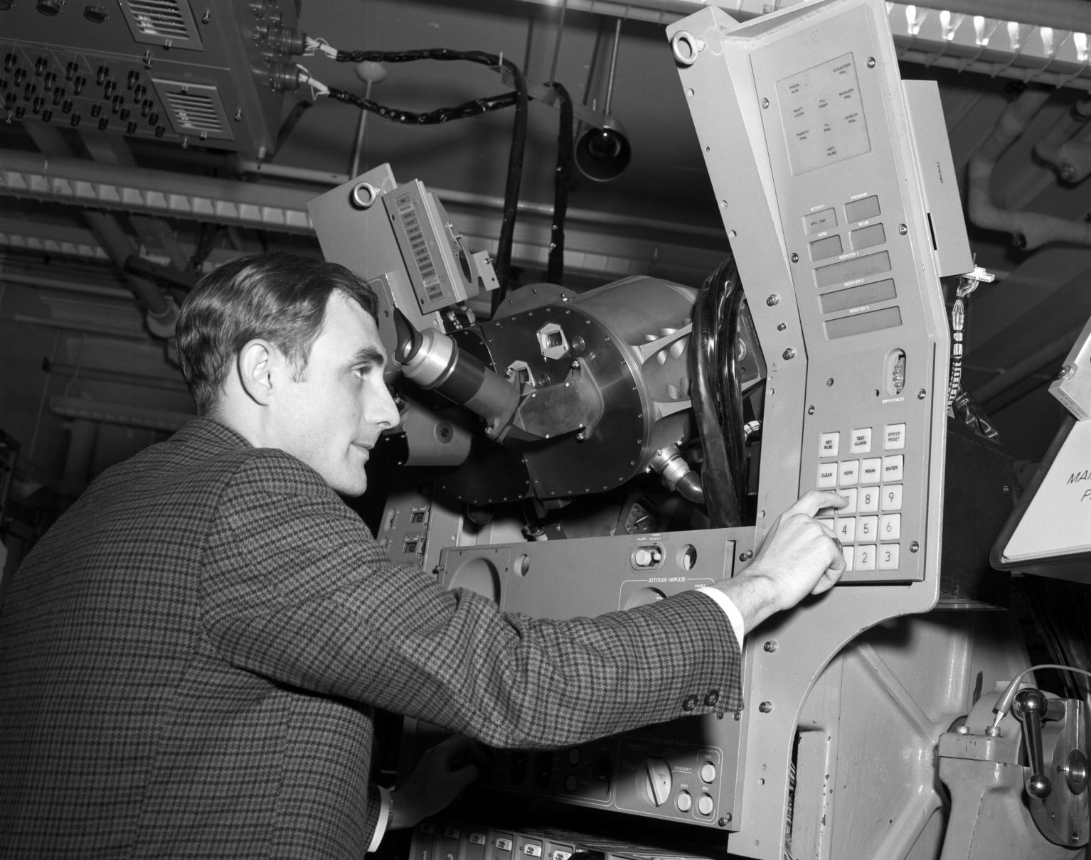 Apollo Block II System With Operator George Schmidt