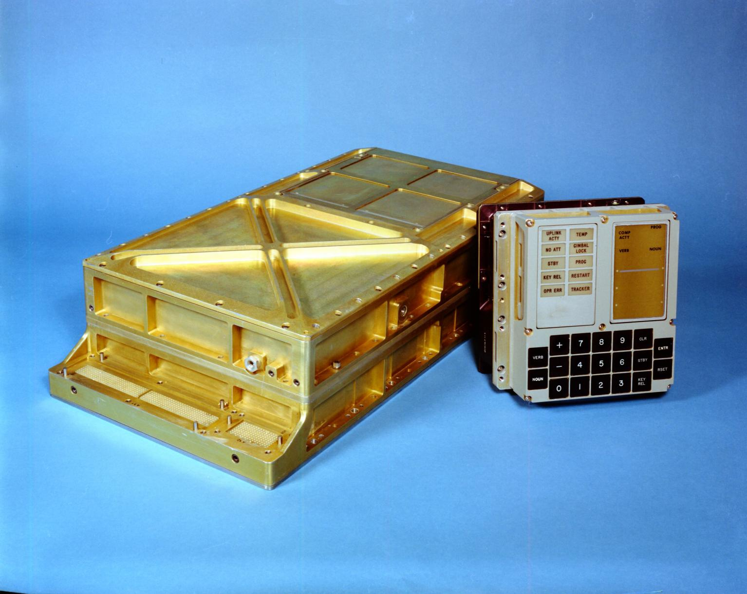 Apollo Guidance Computer and DSKY (Display Keyboard)