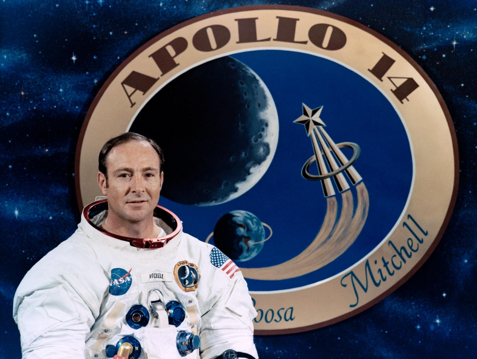 Apollo 14 Astronaut Edgar Mitchell