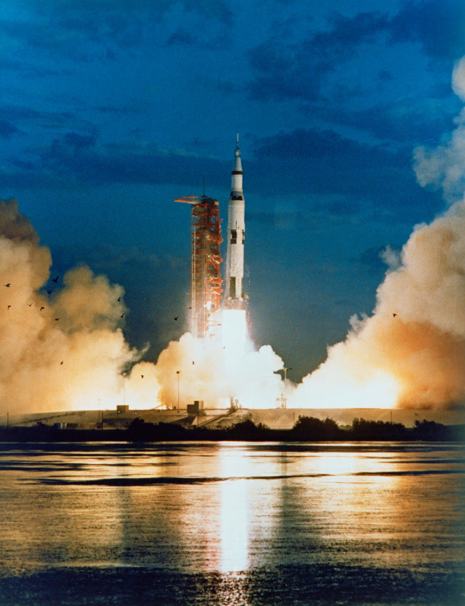 Apollo 4 Launch of Saturn V