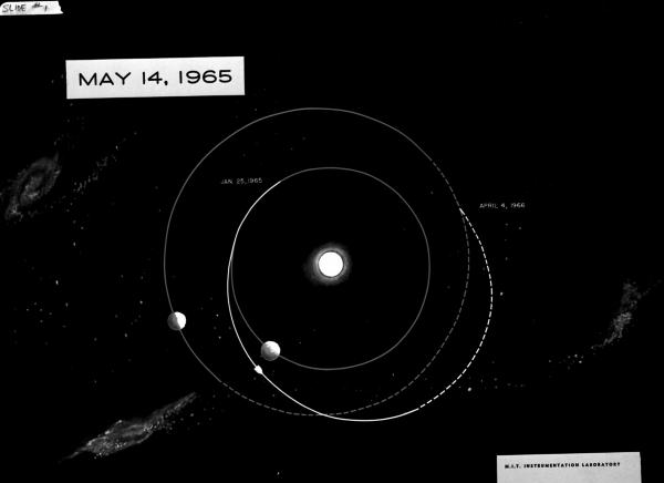 Mars Trip Configuration - May 14, 1965