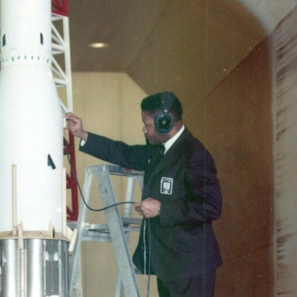 NASA Engineer Thomas Byrdsong