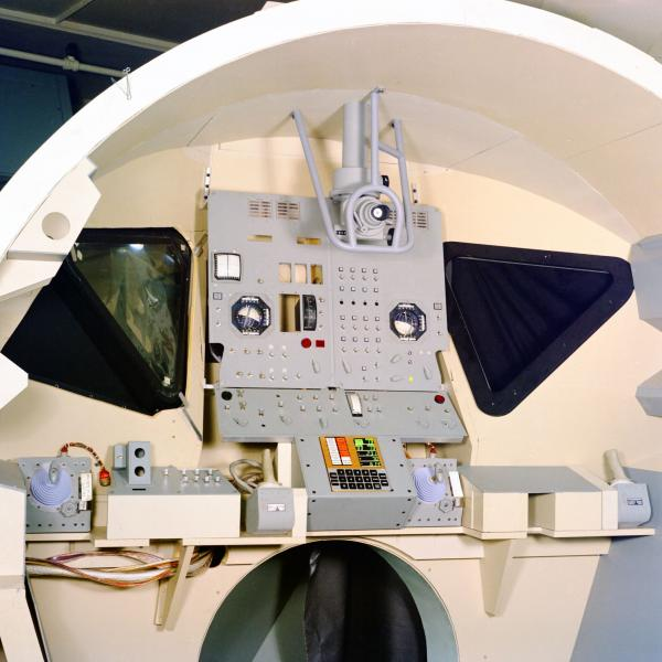 Apollo Block I Command Module Simulation Panels and Apollo LEM Simulation