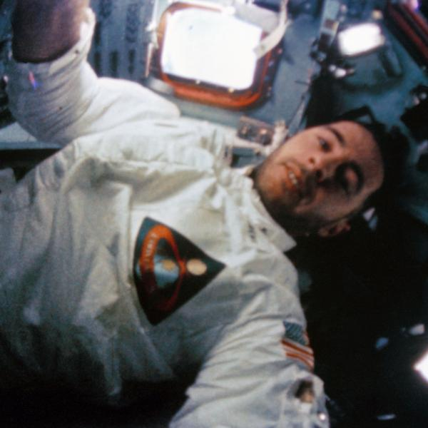 William Anders in the Command Module