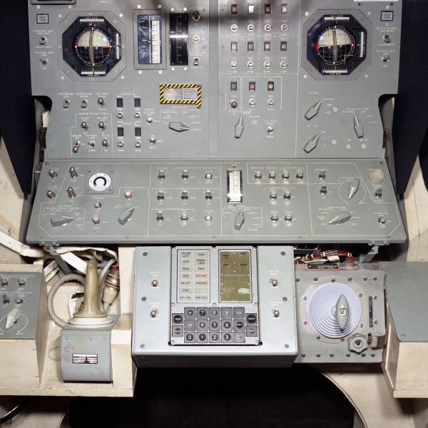 Apollo Primary Navigation, Guidance, and Control System for the Lunar Excursion Module Simulator