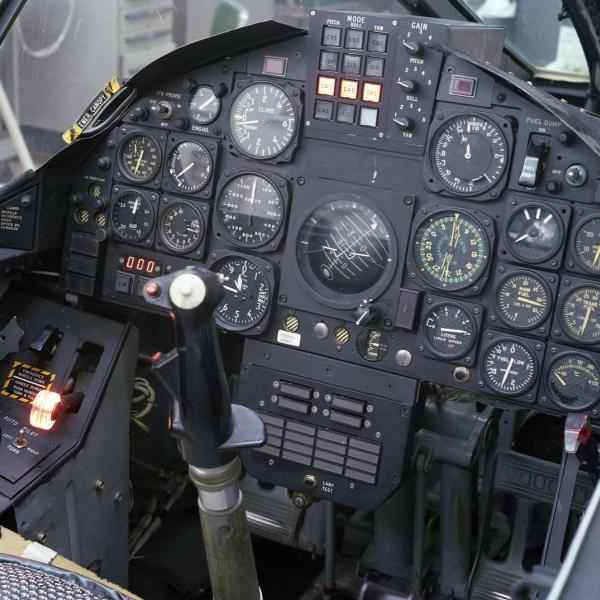 F-8 Digital Fly-By-Wire Cockpit