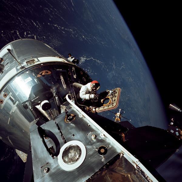 Apollo 9 Command and Service Module Docked with Lunar Module