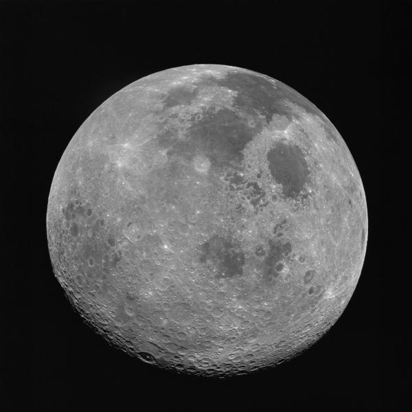 Moon As Seen by Apollo 17