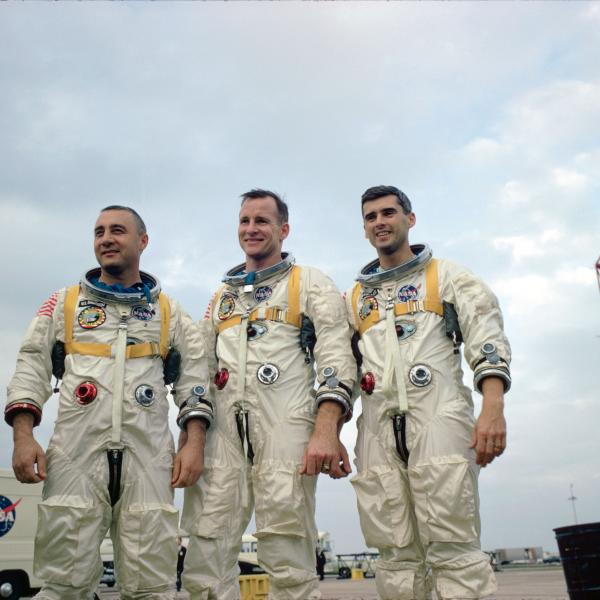 Apollo 1 Crew Grissom, White and Chaffee