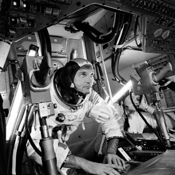Astronaut Michael Collins