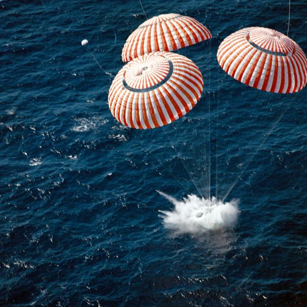 Apollo 16 Splashdown