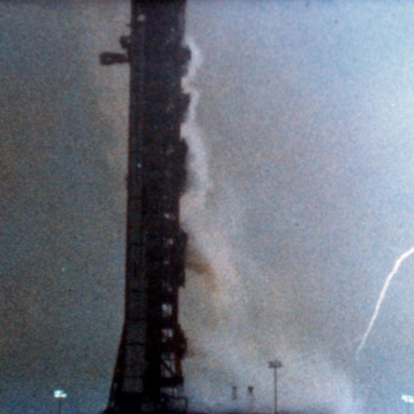 Apollo 12 Lightning Strike