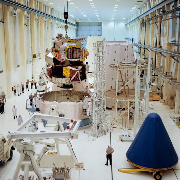Apollo 5 Lunar Module Processing